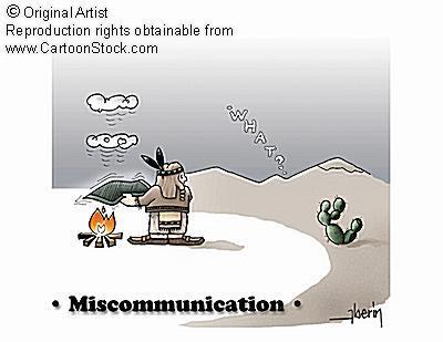Miskomunikasi