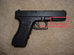 Foto airsoft pistol cm-030 CYMA glock 18c
