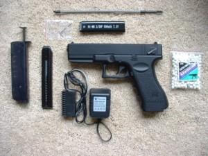Kelengkapan mainan airsoft CYMA cm-030