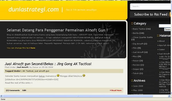 Halaman depan RUMAH BARU DUNIASTRATEGI.COM