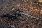 Perbandingan airsoft gun sniper SR 25 & M200