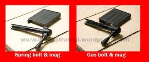 spring & gas bolt m200
