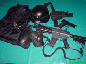 Jual aksesoris airsoft Helm & goggle