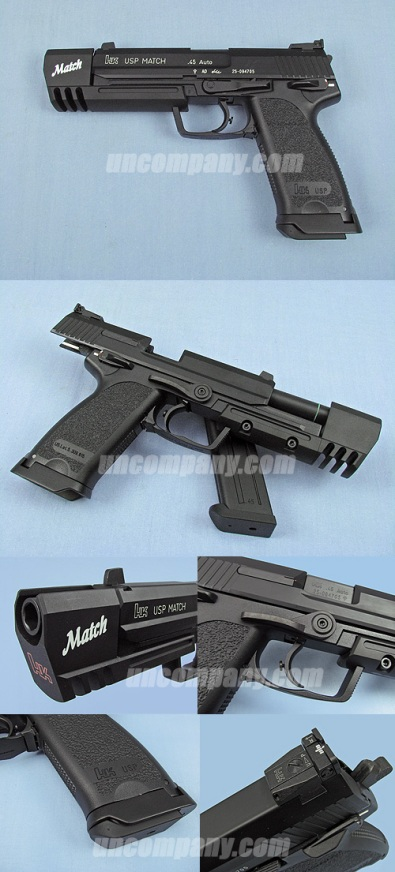 KSC USP .45 Match Full Metal (Taiwan Version)