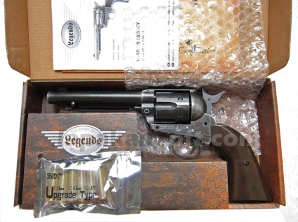 Umarex Wingun Colt SAA 45 CO2 black weathered
