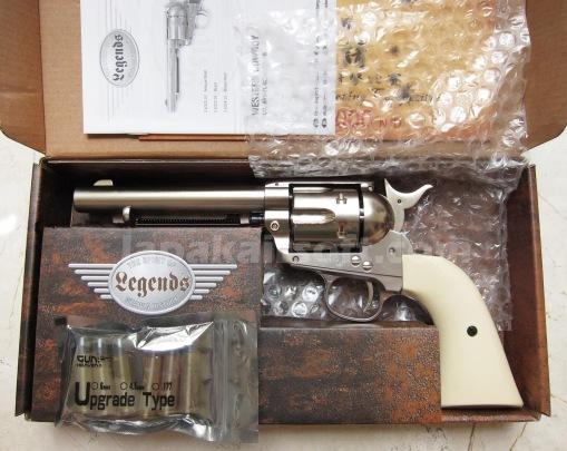 Umarex Wingun Colt SAA 45 CO2 chrome