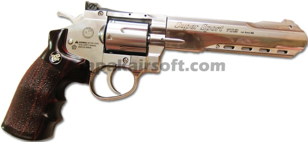 Win gun Revolver 702 6inch chrome2
