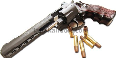 Wingun Revolver 702 6 inch black doff