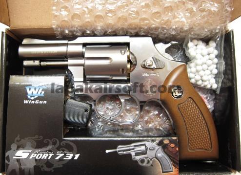 Wingun Revolver 731 chrome