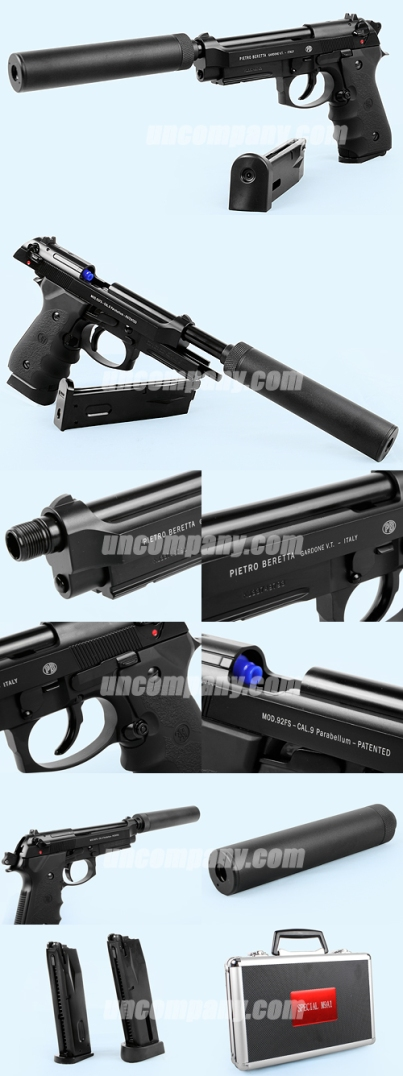 KJW M9A1 special with silencer marking italy