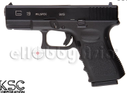 KSC G19 GBB Pistol  Metal Slide Version