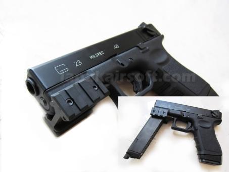 KSC Glock 23f app mount rail