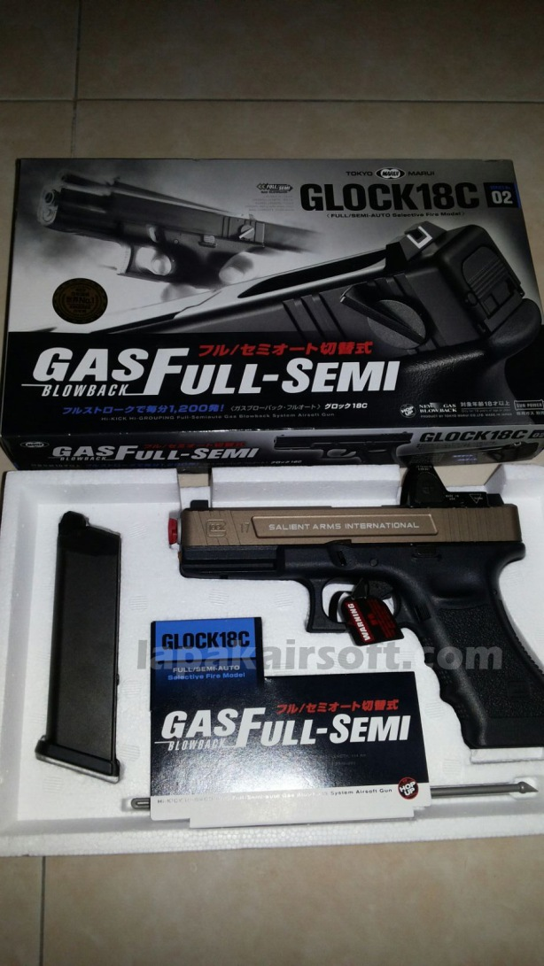 SAI TM Glock 18c