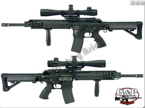 G&P SR-15 URX (Medium) Airsoft AEG