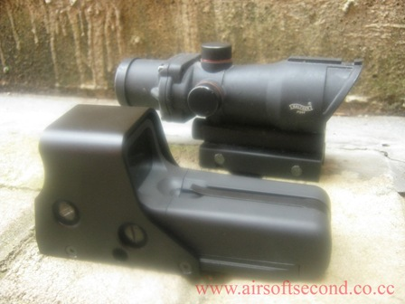 Holosight 552 & Teleskop