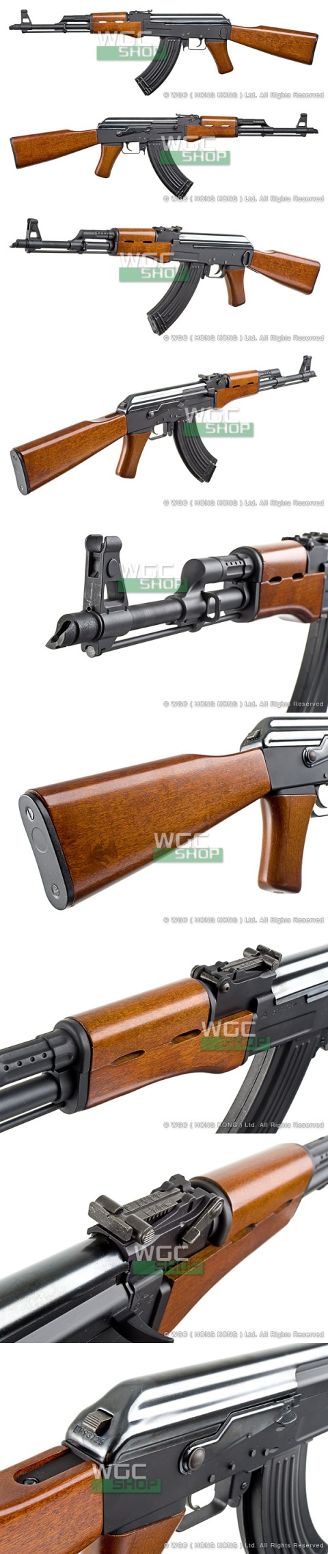 G&P AK47 wood stock