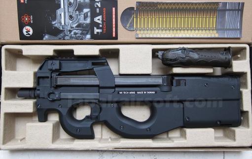 WE P90 GBBR