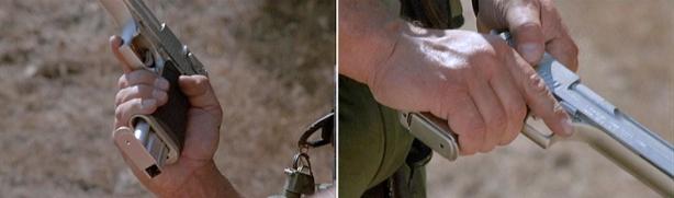 Liat tangannya Arnold Suasanasegerr!! Jempol & telunjuk aja ga ketemu....xixixi emang betul2 BIG GUN!!