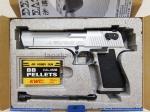 Jual airsoft gun pistol KWC Desert EAgle silver