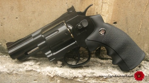 airgun WG Revolver 2.5 black