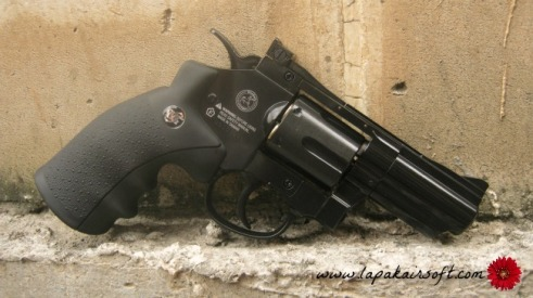 airgun WG Revolver 2.5 black
