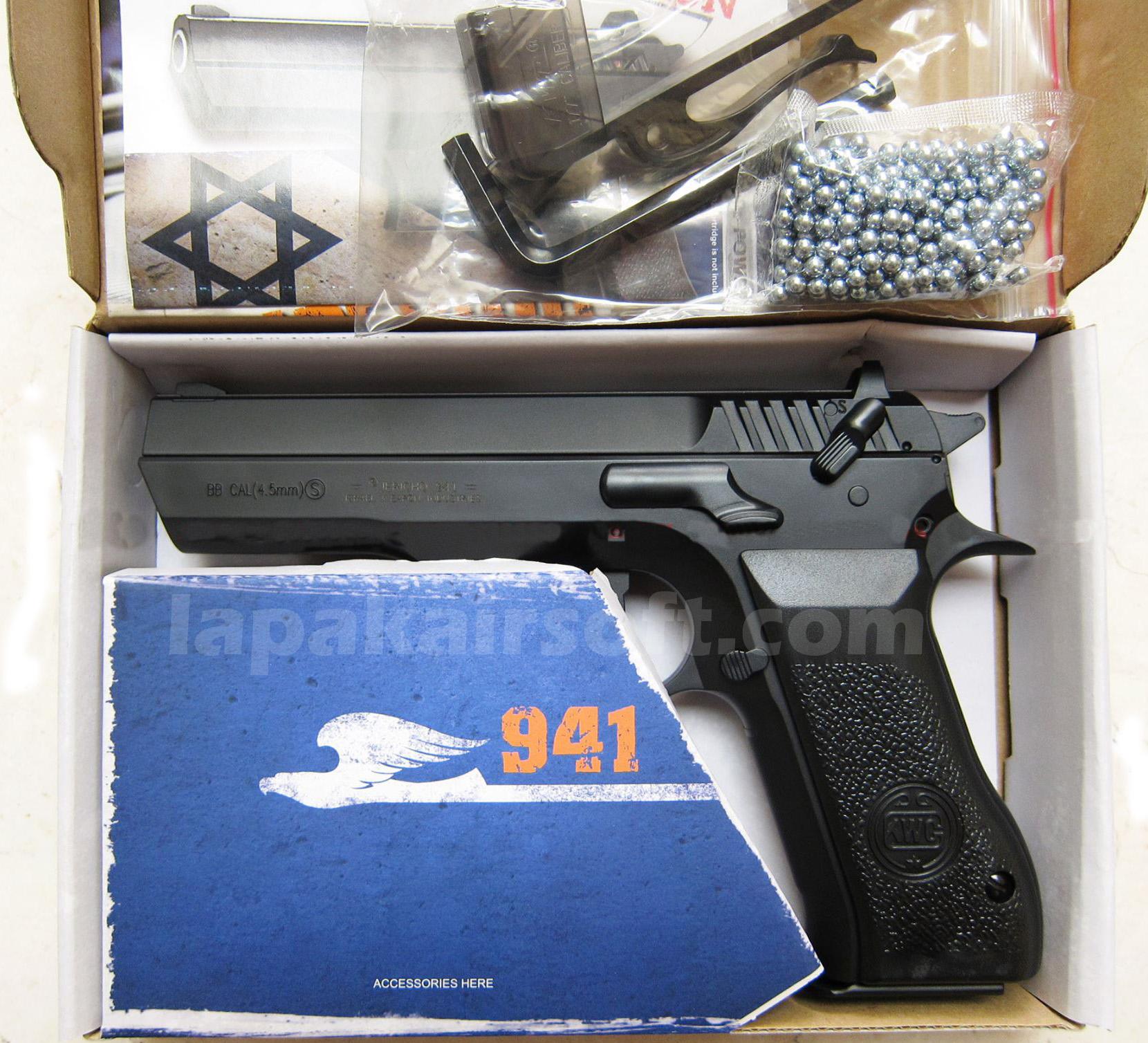 KWC Jericho airgun