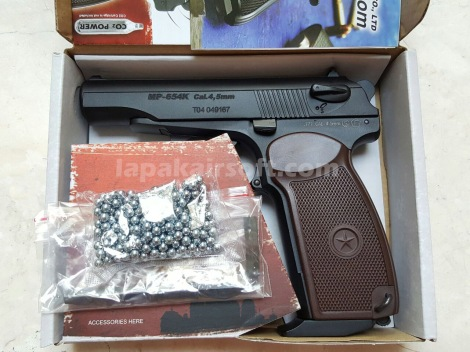 jual airgun kwc makarov 4,5mm blowback
