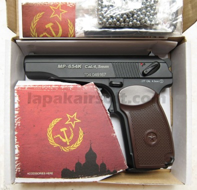 KWC Makarov grip coklat airgun