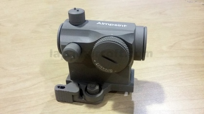 aimpoint micro T1 tan