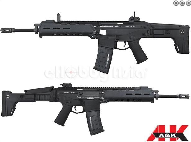 A&K MASADA ACR black12