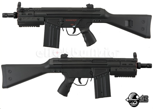 Jing Gong G3 SAS Fixed Stock T3SAS G Airsoft AEG JG 097