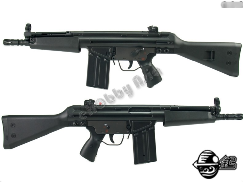 Jing Gong G3 Shorty T3MC51 Airsoft AEG JG 102