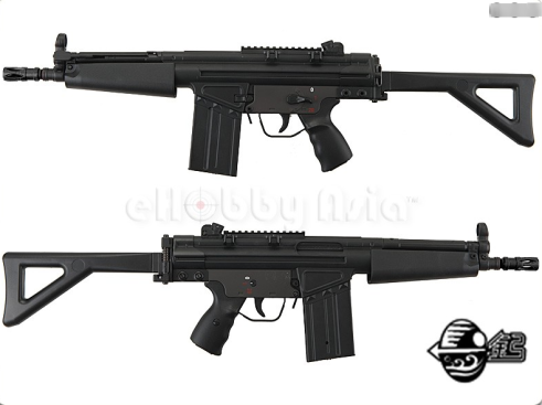 Jing Gong MC51 Folding Stock Airsoft AEG JG 104