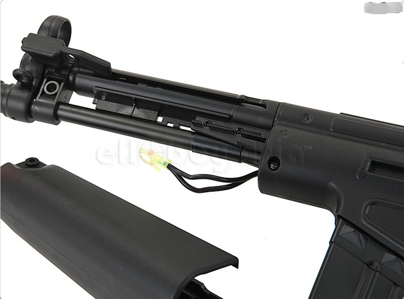 Jing Gong MC51 Folding Stock Airsoft AEG open battery space