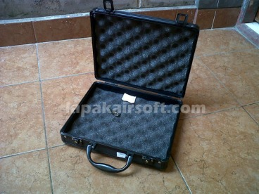 aluminium gun case all black