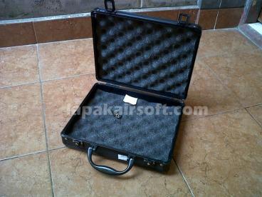 aluminium gun case all black