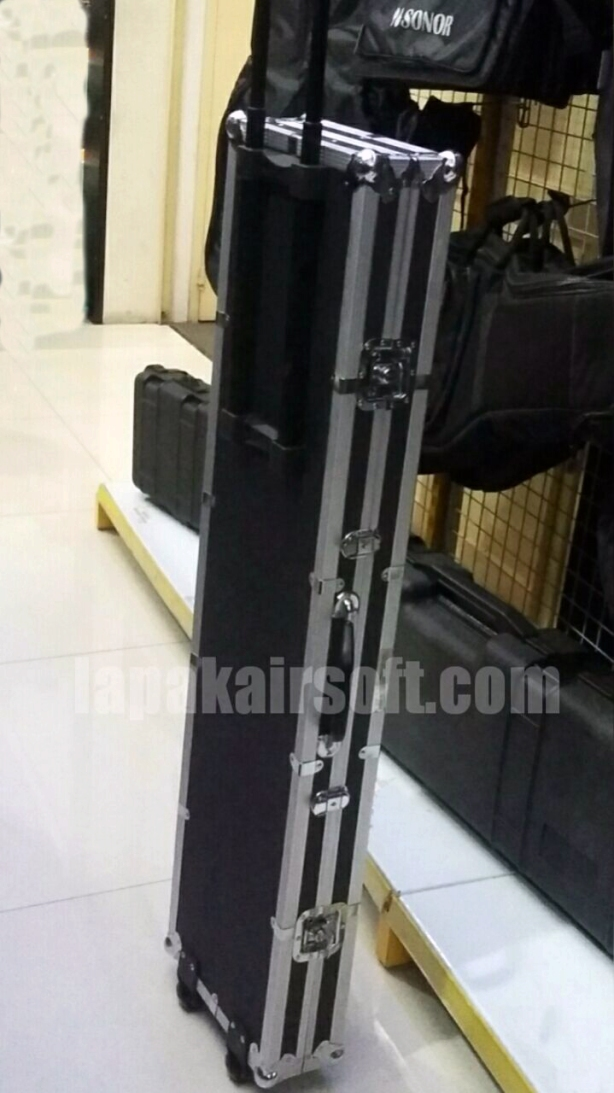 aluminium hardcase rifle 12 cm travel