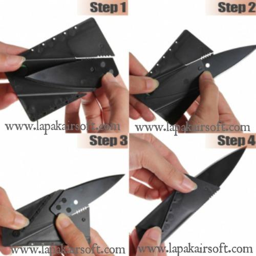cardshape knife