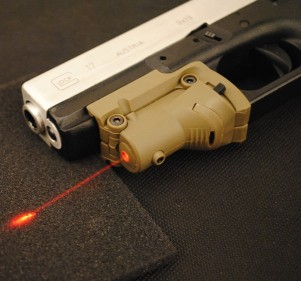 Optronics Precision Red Laser Device for Glock Series (sand)