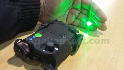 tes anpeq green laser