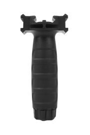 Vertical Grip GG Grip with siderail Black