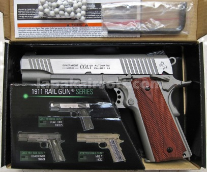 Cybergun Colt 1911 CO2 Blow-Back Silver