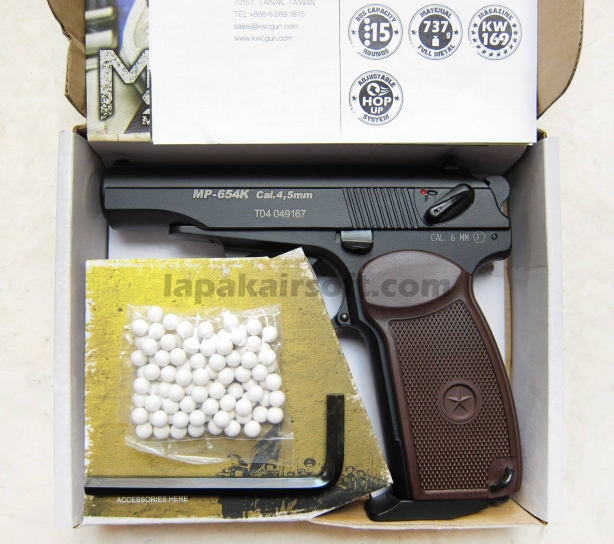 KWC Makarov 6mm blowback