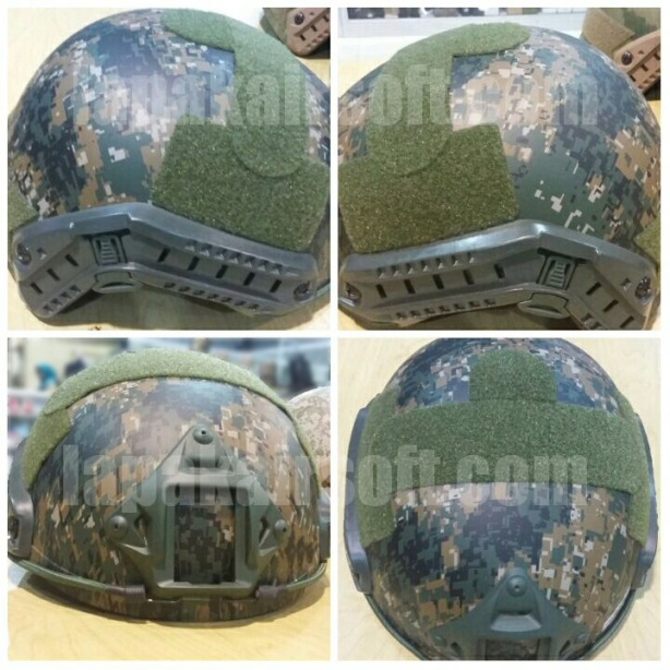 Helmet MICH 2001 marpat