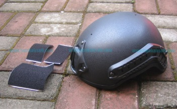 Helmet MICH 2001 with NVG mount & siderail
