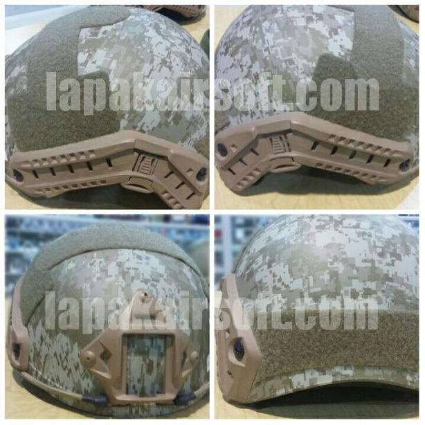 Helmet MICH2001 digital desert