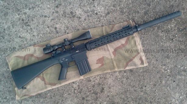 Airsoft Sniper Rifle A&K SR-25