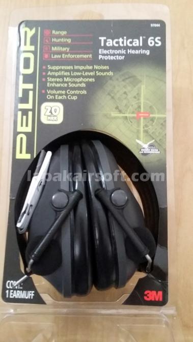 Peltor Tactical 6S