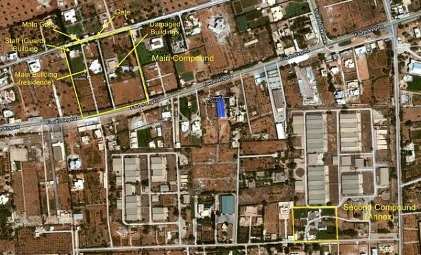 peta kedutaa AS benghazi
