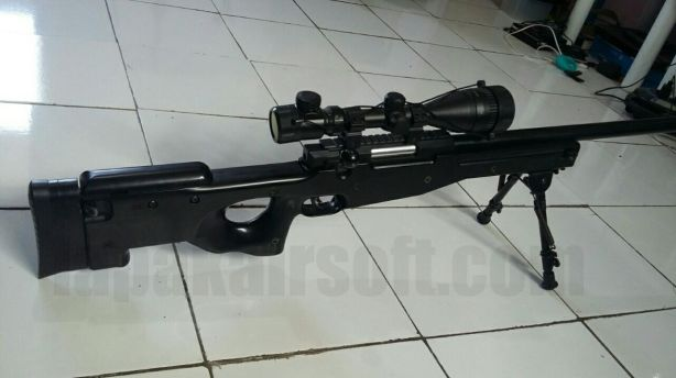 jual airsoft gun second well l96 glg